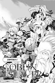 manga goblin slayer chapter 5 page 3 goblin slayer