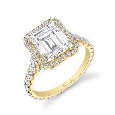 neil emerald cut engagement rings neil style bdgs 00165a 3 5 carat emerald cut