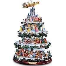 pre lit rotating christmas tree