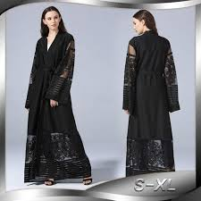 east clothing muslim abaya dress lace cardigan tunic thobe burka islamic