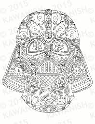 dead darth vader mask coloring kawanish