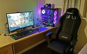 ultimate gaming desk setup gaming setup gaming pinterest gaming setup gaming desk and gaming
