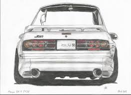 fc rx7 mazda rx7 fc drawing by me tell me your opinion brap brap
