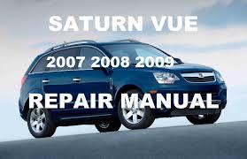 saturn vue 2007 2008 2009 repair manual youtube