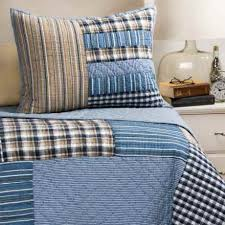 Rizzy Home Bedding Peacock Alley Wide Stripe Duvet Cover Twin Egyptian Cotton 400
