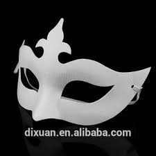 plain masquerade masks white pulp diy painted zorro pumpkin crown blank masquerade