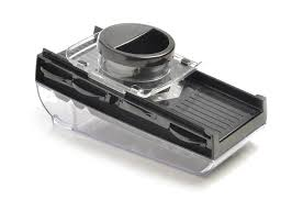mandoline en cuisine mandoline de cuisine 5 lames avec réservoir noir mastrad