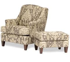 White With Tree Brown Design Upholstered Accent Chairs For Modern