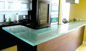 plan de travail cuisine verre plan de travail en verre de cuisine sensible chic thinkglass plan de