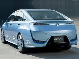 hydrogen fuel cell car toyota toyota fcv r concept 2012 pictures information u0026 specs