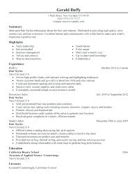 cosmetology resume templates cosmetologist resume cosmetologist resume template cosmetology