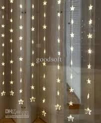 Led Light Curtains Led Light Curtain 144 Crystal Led Lights 12 Strands 6 Ft Long