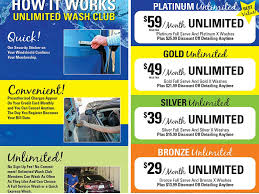 with pricing starting at only 29 our unlimited car wash club is