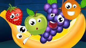 kids tv nursery rhymes five little fruits nursery rhyme kids tv