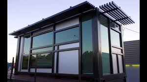 nice simple design of the prefab shipping container homes