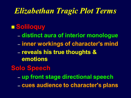 Meaning Of Interior Monologue Elizabethan Drama The Tragedy Of Hamlet Prince Of Denmark Ppt
