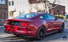 Red Mustang Black Wheels Mustang Performance Parts Roush Saleen Parts Part 19