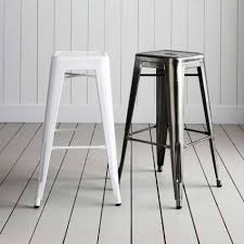 jasper metal cafe bar stool set of 2 banh banh pinterest