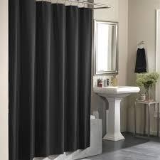 Black Bathroom Curtains Alluring Black Bathroom Curtains Ideas With Black Bathroom Shower