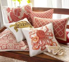 Pottery Barn Decorative Pillows Scarlett Pillow Cover Pottery Barn