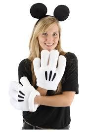 mickey mouse halloween costumes mickey ears u0026 glove set