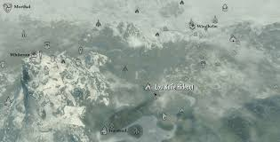 Skyrim World Map by Image Lost Knife Hideout Map Jpg Elder Scrolls Fandom