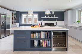 linear kitchen four corners cotswolds hand painted linear kitchen four corners