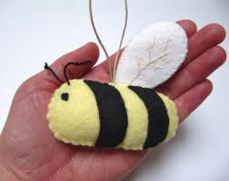 bumble bee ornament etsy
