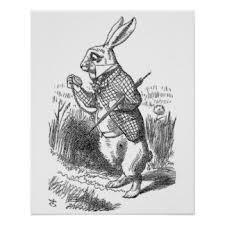 vintage rabbit vintage rabbit posters zazzle