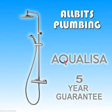 aqualisa midas plus thermostatic chrome shower mixer valve bar aqualisa midas plus thermostatic chrome shower mixer valve bar type md000plus 5023942086968 ebay