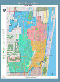Florida Towns Map Geographic Information Systems Gis Map Gallery City Of Boynton