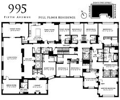 Floor Plans For Real Estate Floor Plan 995 Fifth Avenue U2013 Variety