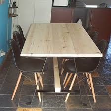 build your own table home dzine home diy make a pine dining table