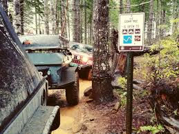 Rubicon Trail Map Trail Report Cedar Tree Oregon Off Road Vegan