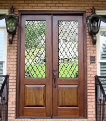 wood and glass exterior doors 65 best leaded glass front doors images on pinterest front doors