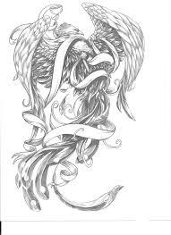 136 best phoenix tattoos images on pinterest draw bird and dragon