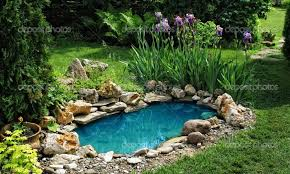 small pond ideas with waterfall landscaping gardening ideas