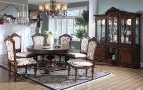 7pc round dining set bel furniture houston u0026 san antonio