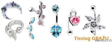 auskarai i nosi internetinė parduotuvė auskarai kūnui titaniniai ir pirsingas