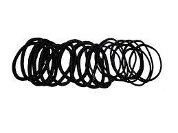 hair bobbles 10 thick 10 thin hair bobbles elastics bands black brown