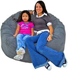 Lovesac Vs Ultimate Sack Amazon Com Cozy Sack 6 Feet Bean Bag Chair Large Earth Kitchen