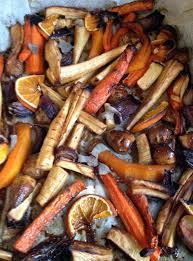 cuisiner les l馮umes d hiver coquilles st jacques et légumes d hiver rôtis au miel orange et
