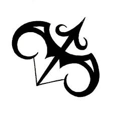 sagittarius zodiac symbol design