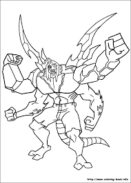 100 ideas ben 10 colouring emergingartspdx