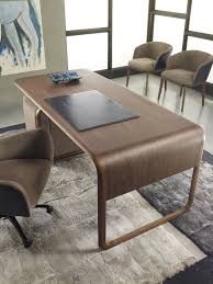 rectangular wooden writing desk woody timeless collection by ulivi