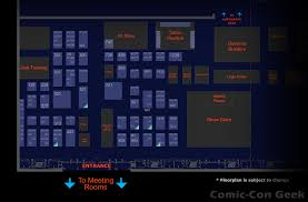 star wars celebration vi exhibitor list and floor plan comic con