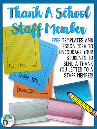Free Thank You Letter Template Free Thank You Letter Templates Encourage Your Students To Thank
