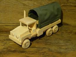 Homemade Wooden Toy Trucks by Handmade Original Design Wood Toy Army Truck 12 3 4 Inches Long