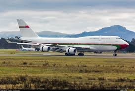 Karlsruhe Baden Baden A4o Omn Oman Royal Flight Boeing 747 400 At Karlsruhe Baden