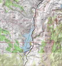 Utah State Parks Map by Gunlock Reservoir State Park Pictures Map